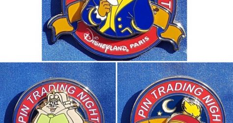 August 2019 Disneyland Paris Pin Trading Night Pins