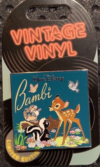 Bambi Vintage Vinyl Pin