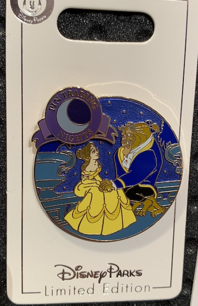 Beauty and the Beast Pin Trading Nights September 2019