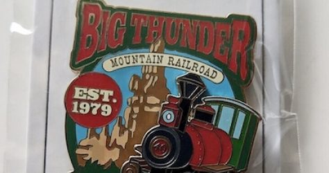 Big Thunder Mountain Railroad Cast Member DL 2019 Pin