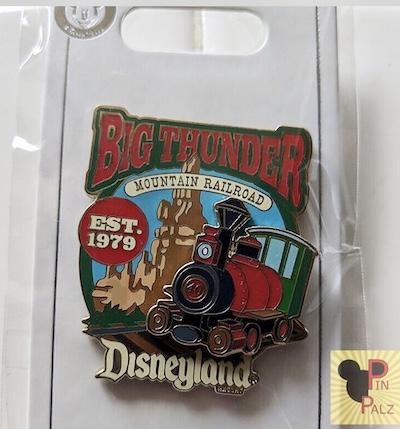 Big Thunder Mountain Railroad Cast Member DL 2019 Pin