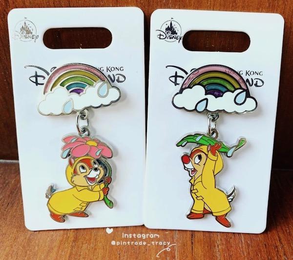 Hong Kong Disneyland 2019 Rain Pin Series