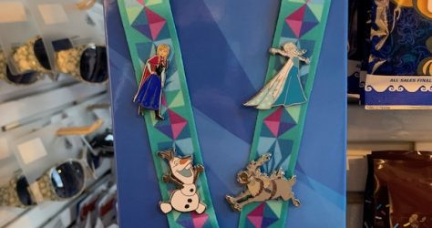 Disney Frozen Pin Trading Starter Set