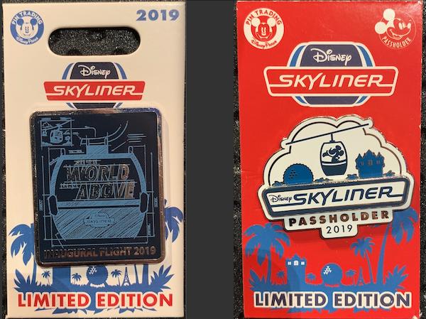 Disney Skyliner Grand Opening Pins