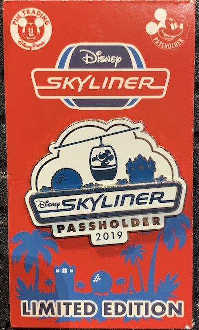 Disney Skyliner Passholder 2019 Pin