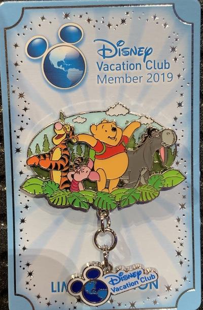 Disney Vacation Club – Winnie the Pooh 2019 Pin