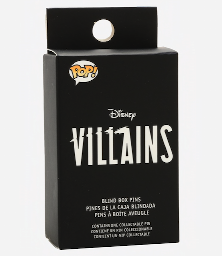 Disney Villains Funko Blind Box Pins