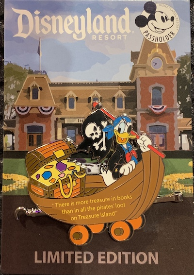 Disneyland Passholder Train Series 2019 Pin #5