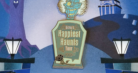 Disney's Happiest Haunts Tour 2019 Pin