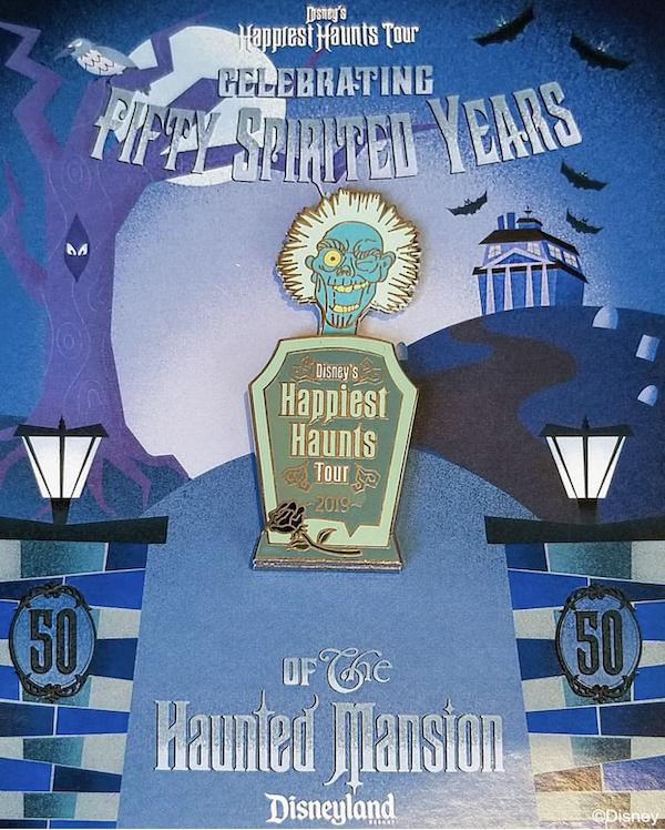 Disney's Happiest Haunts Tour 2019 Pin