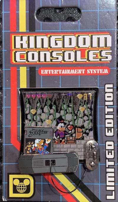 DuckTales Kingdom Consoles Pin