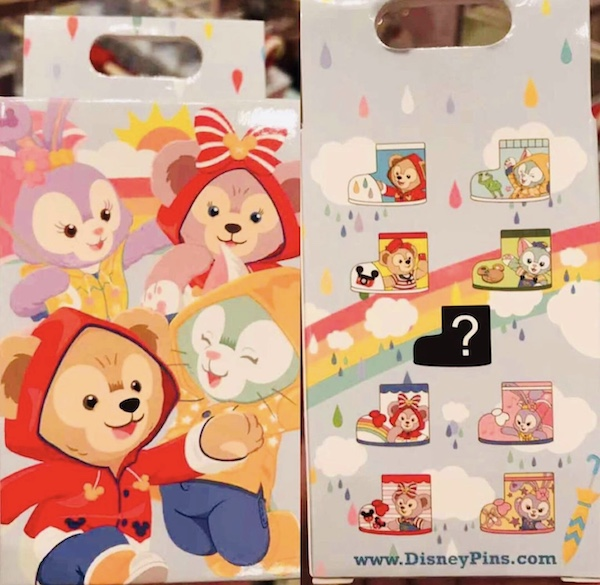 Duffy Bear & Friends Shanghai Disneyland Rain Mystery Pin Collection
