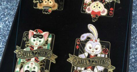Duffy Bear & Friends Halloween 2019 Pin Set