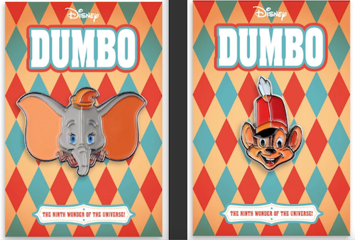 Dumbo Mondo Disney Pins
