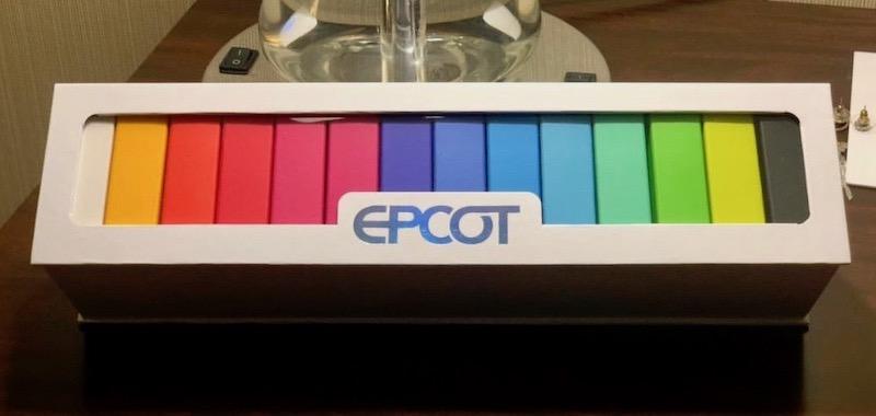 Epcot Pavilion Symbols Disney Pin Set