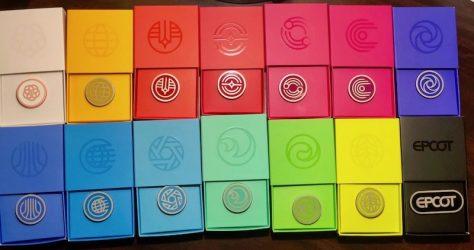 Epcot Pavilion Symbols Disney Pins