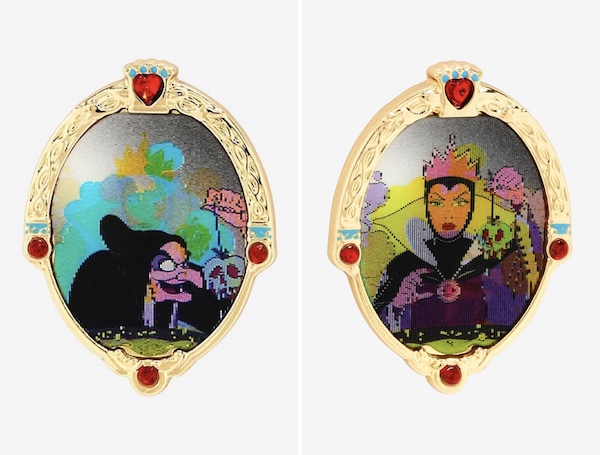 Evil Queen Lenticular BoxLunch Disney Pin