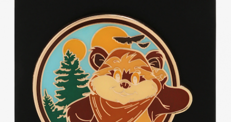 Ewok Wicket BoxLunch Star Wars Pin