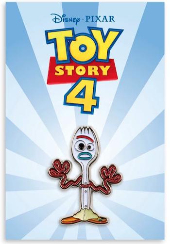 Forky - Toy Story 4 Mondo Disney Pin