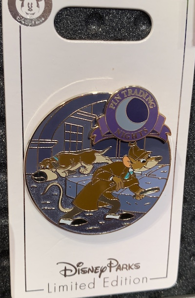 Great Mouse Detective Pin Trading Nights September 2019