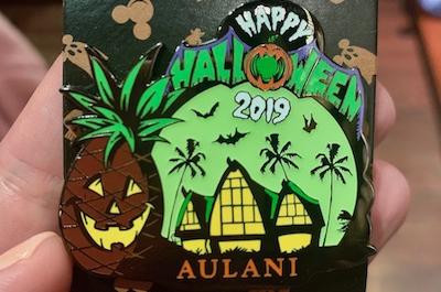 Halloween 2019 Aulani Pin