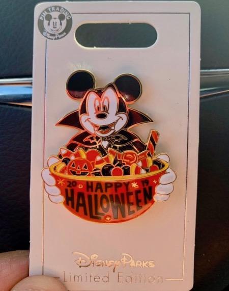 Halloween 2019 Cast Member Disney Pin
