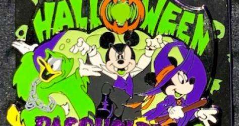 Halloween 2019 Passholder Disney Pin