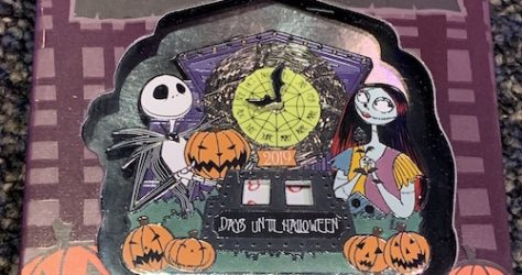 Halloween Countdown 2019 Jumbo Disney Pin
