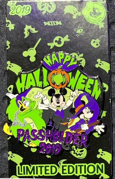 Happy Halloween 2019 AP Disney Pin