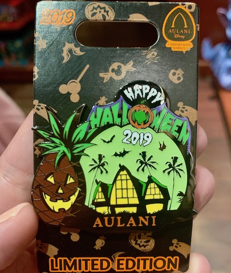 Happy Halloween 2019 Aulani Disney Pin