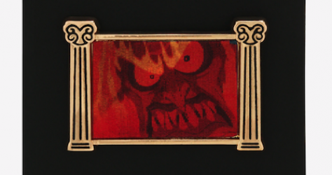 Hercules Hades Lenticular BoxLunch Disney Pin