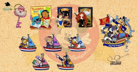 September 2019 HKDL Limited Edition Pin Releases