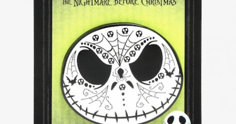 Jack Skellington Sugar Skull Hot Topic Disney Pin