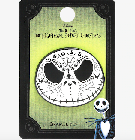 Jack Skellington Sugar Skull Hot Topic Disney Pin