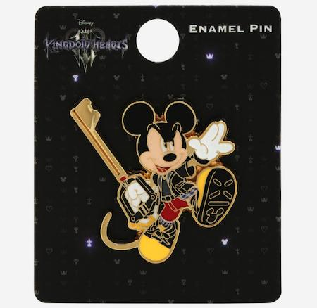 Kingdom Hearts Mickey Mouse Keyblade BoxLunch Disney Pin