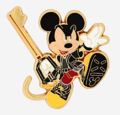 Kingdom Hearts Mickey Mouse Keyblade Disney Pin
