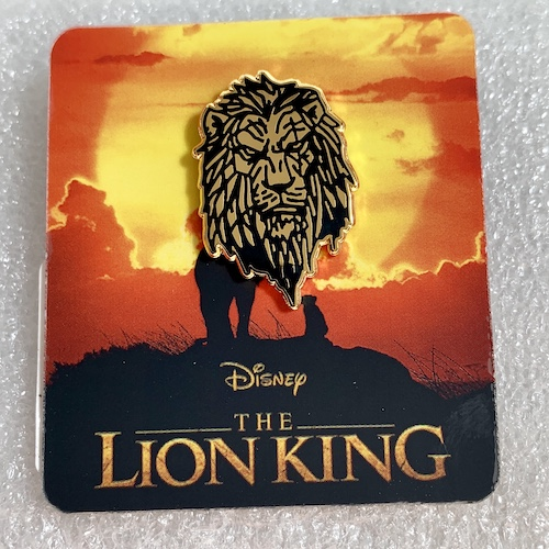 Disney Scar Pin The Lion King