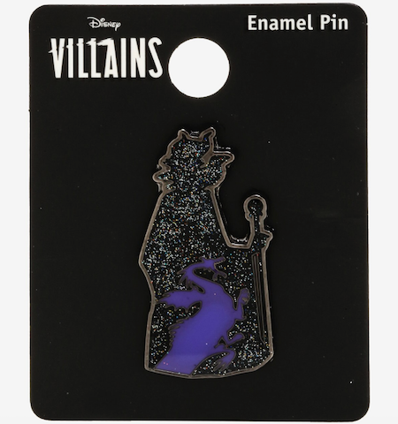 Maleficent Glitter Dragon BoxLunch Disney Pin