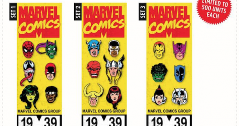 Marvel Comics 80th Anniversary Pin Sets - NYCC 2019