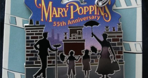 Mary Poppins 55th CM Movie Anniversary Pin