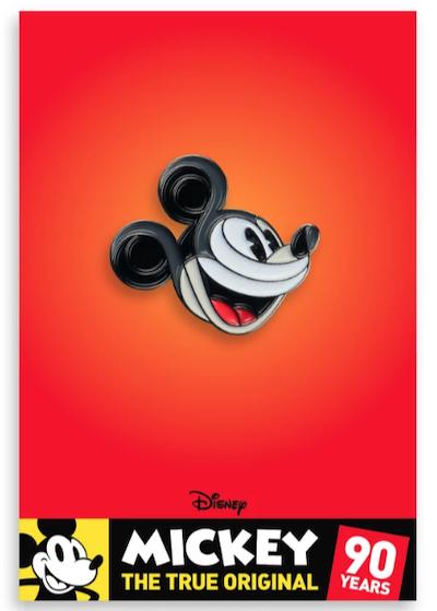 Mickey Mouse Profile Mondo Disney Pin