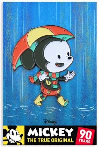 Mickey Mouse Rain Mondo Disney Pin