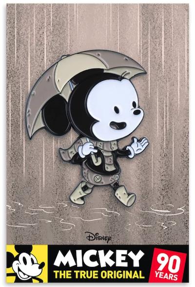 Mickey Mouse Silver Screen Mondo Disney Pin