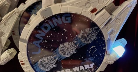 Millennium Falcon Star Wars Galaxy's Edge Lanyard