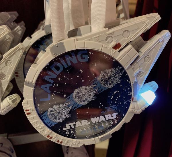 Millennium Falcon Star Wars Galaxy's Edge Lanyard