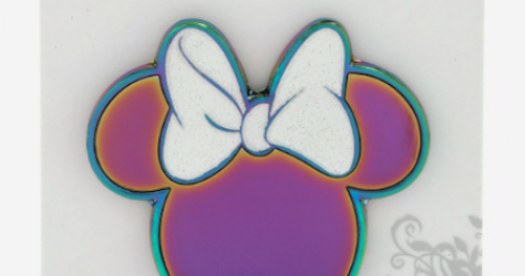 Minnie Mouse Holographic BoxLunch Disney Pin