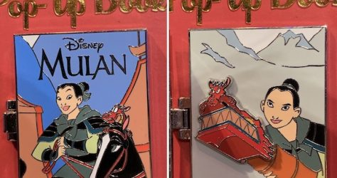 Mulan Pin Trading Pop-Up Book Pin