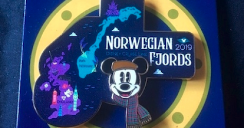 Norwegian Fjords DCL 2019 Pin