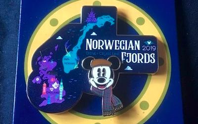 Norwegian Fjords DCL 2019 Pin