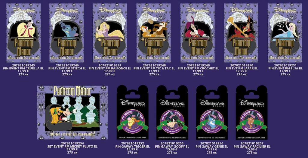 Phantom Manor Pin Event Releases